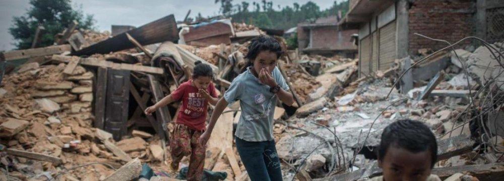 Humanitarian Crisis in Nepal