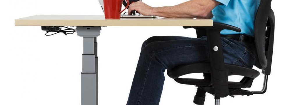 Under Desk Pedal Device Could Reap Health Benefits