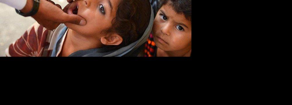 Pakistan Seeks Iran Help in Tackling Polio