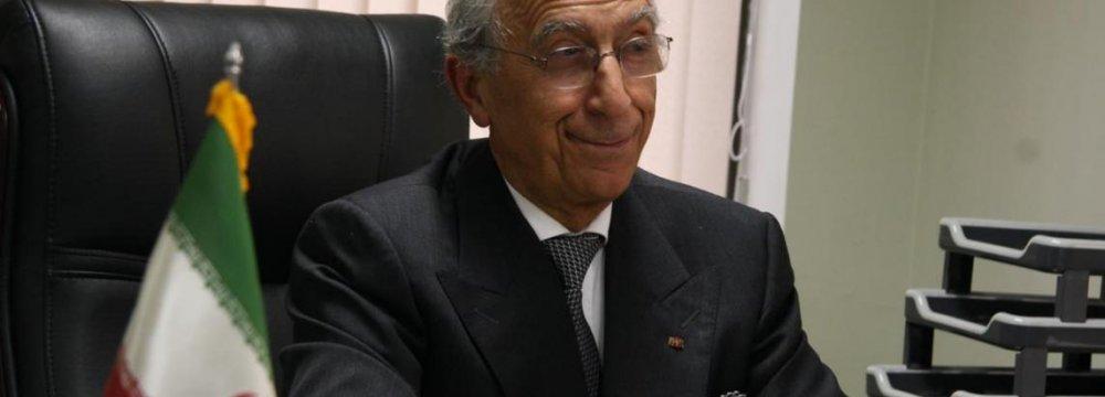 Serbian President Honors Prof. Samii