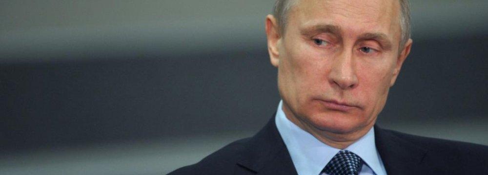 Putin Says Russia Has Ebola Vaccine