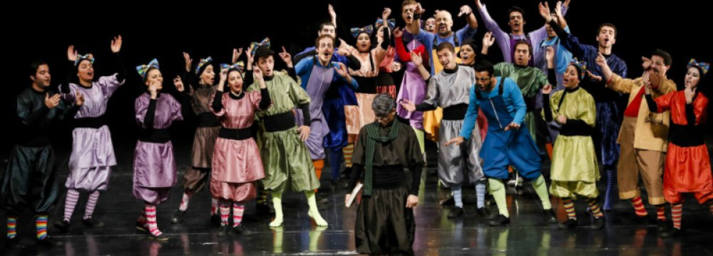 'Shakheh-Nabaat', a Musical Rare to Theater