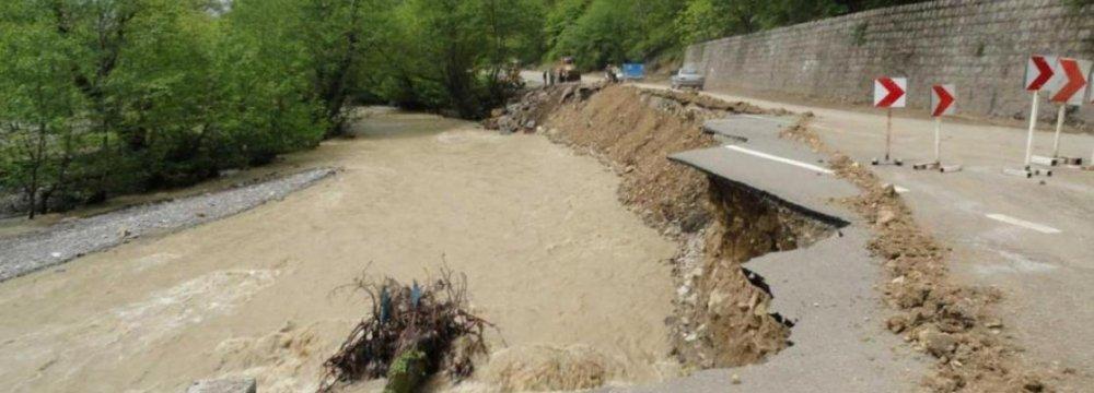 Rains Damage Shemiranat