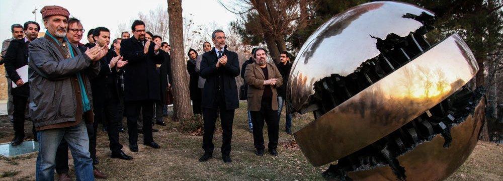 Italian Sculptor's Restored Work Unveiled at Tehran Museum