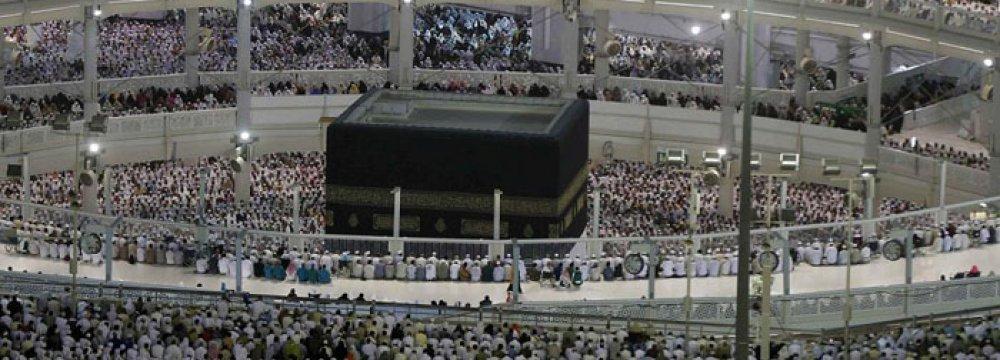 2m Hajj Pilgrims Converge on Mecca