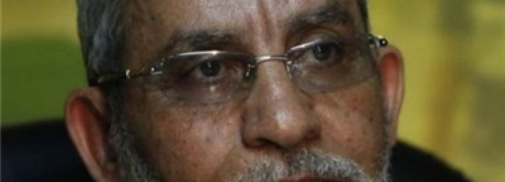 Badie Death Sentence Reduced to Life in Egypt