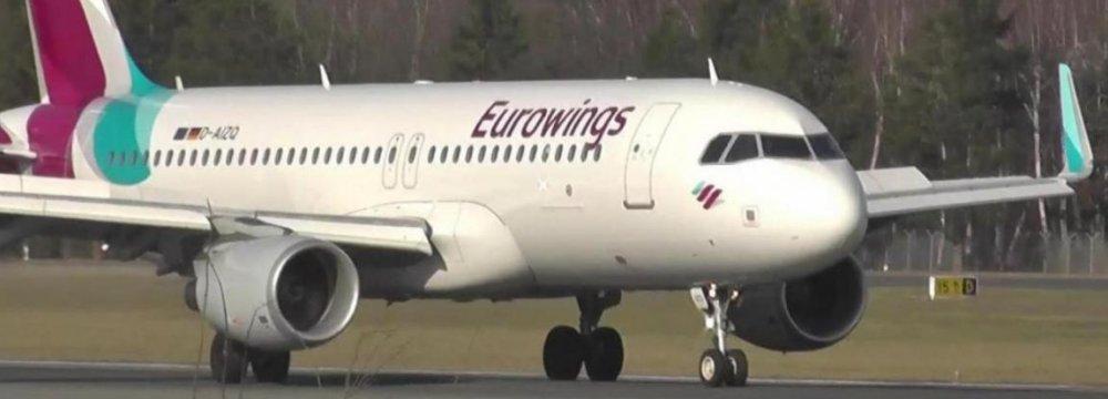 Eurowings to Launch Tehran Flights