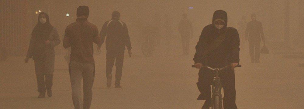 Critical PM10 Level Cripples Khuzestan Province, Again