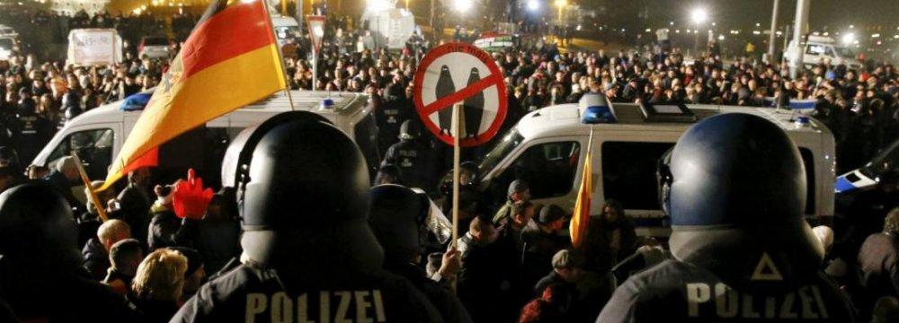 PEGIDA Hurting Dresden Business