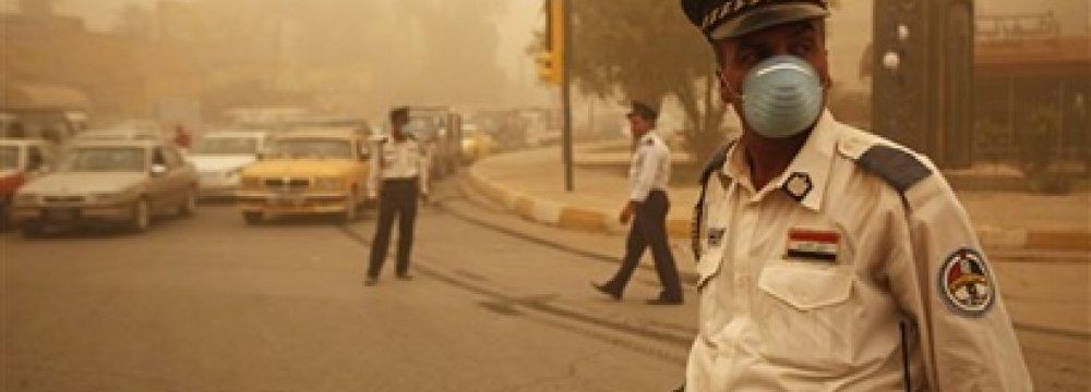 Iran, Iraq Serious About Tackling Environmental Issues