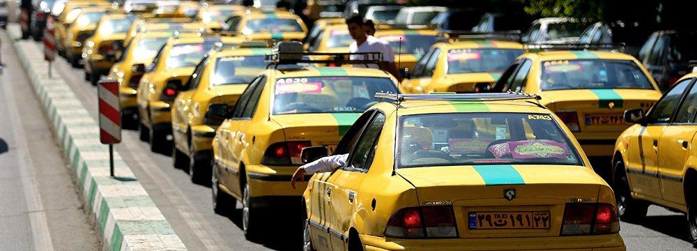 TM Plans Loans to Renovate Tehran's Aging Taxi Fleet