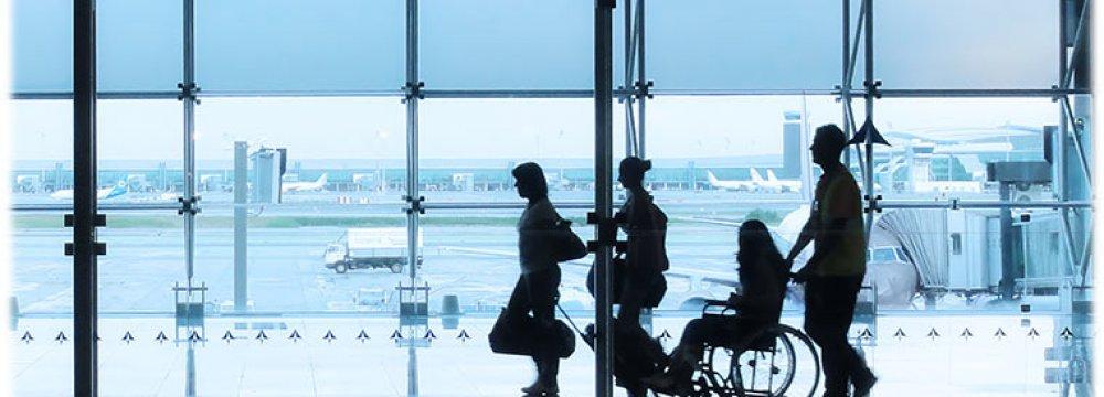 Disabled Man Crawls Off Plane After Mishap