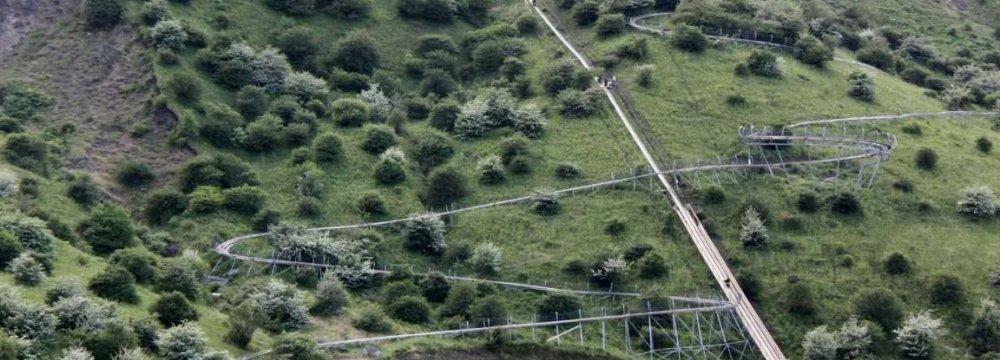 Longest  Rail Sled