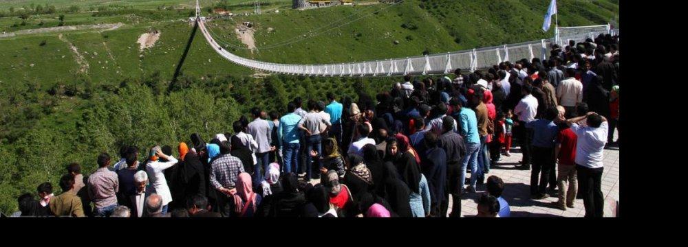 Tallest Suspension Bridge in the Mideast Unveiled