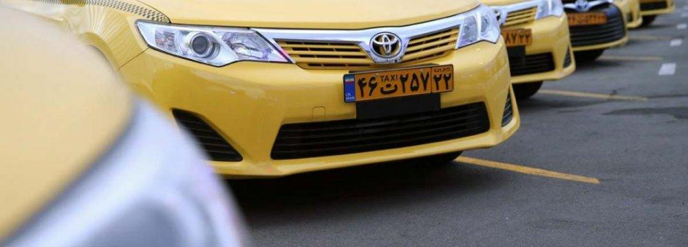 Hybrid Cabs Join Tehran Fleet
