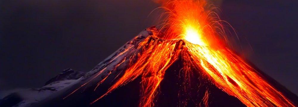 Volcano Superchain Discovered  in Australia