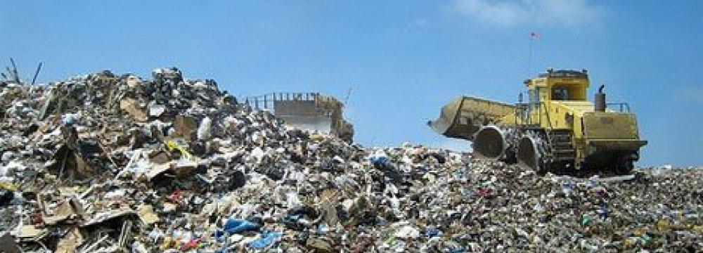 Tehran Suburb Risks Waste Landslide