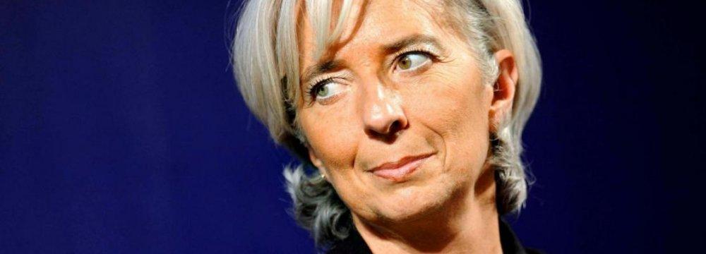 Lagarde: China's Economy Not All 'Doom and Gloom'