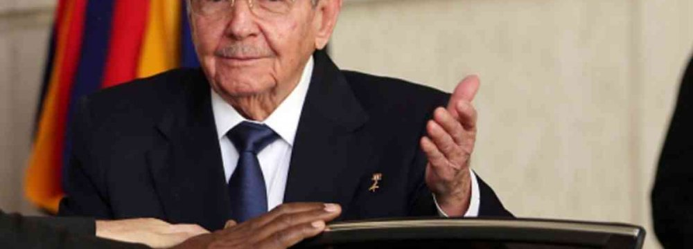 Castro Slams US Trade Embargo