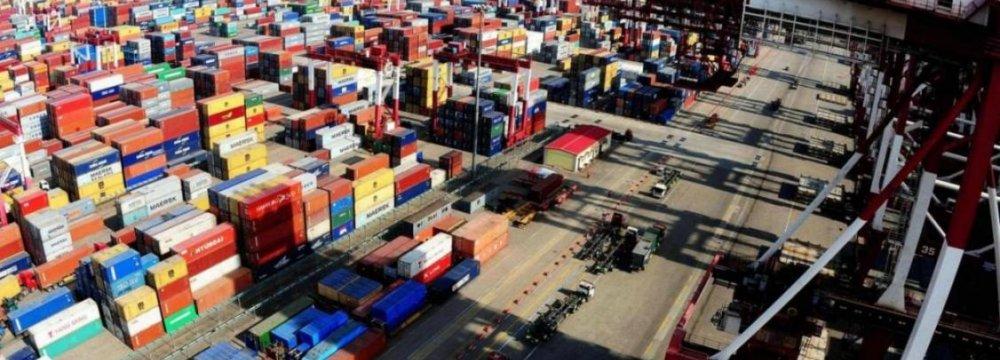 China Exports, Imports Slump 8%