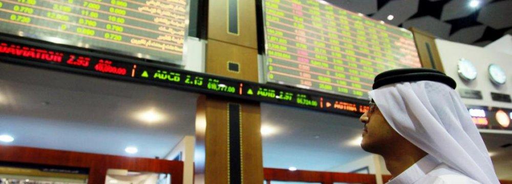 Dubai Stocks Lead Mideast Markets Lower
