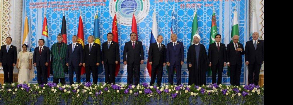 Economic Coop. Within SCO to Reach New Level