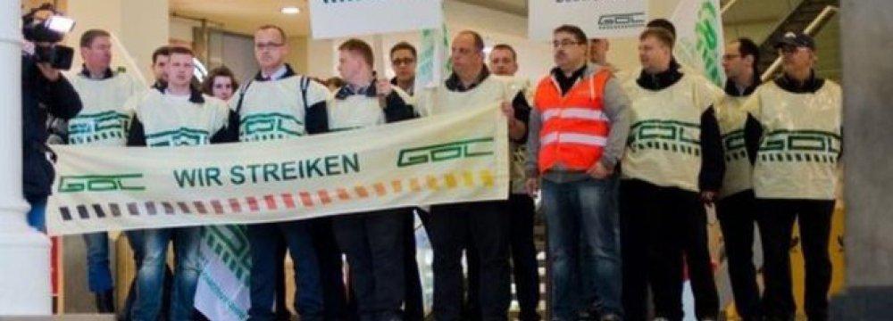 German Train Drivers Strike Again
