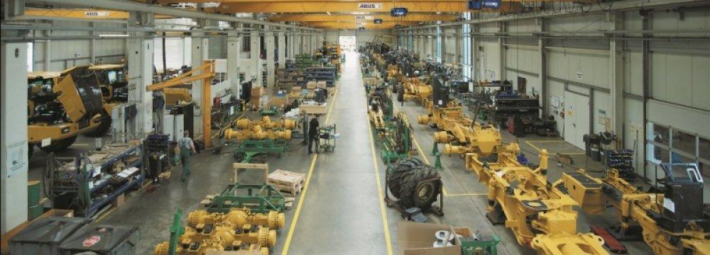 German Production Drops