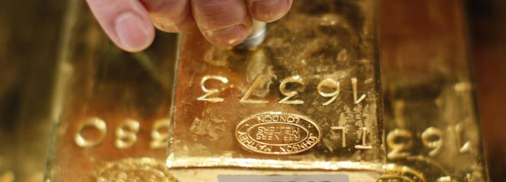 Gold Surges to 1-Year High