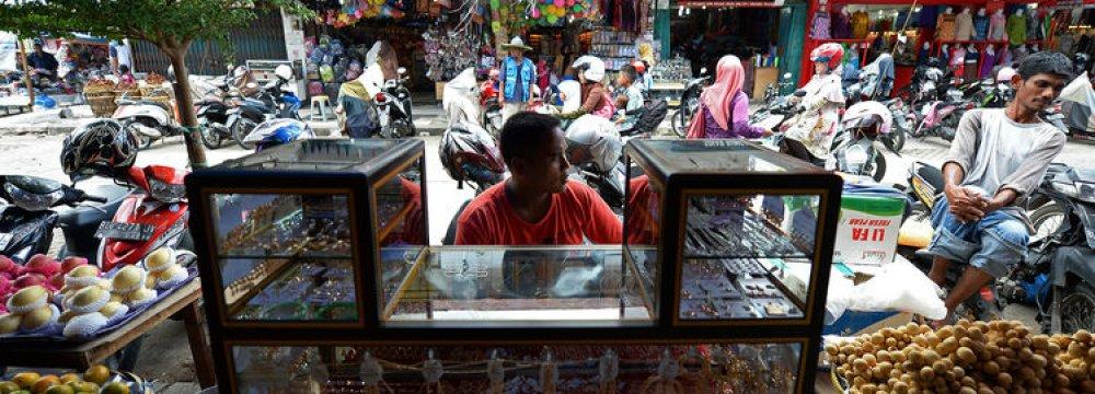 Indonesia Economy Shrinks