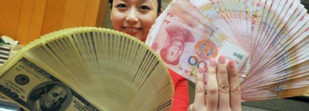 Offshore Renminbi Stronger