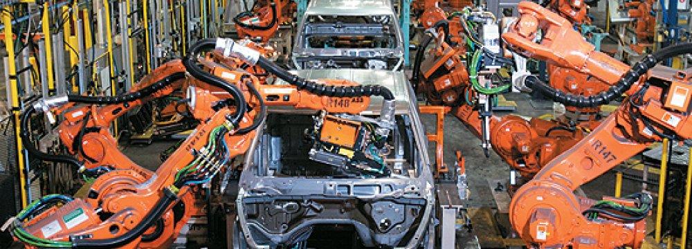 Robots Rising in India Factories