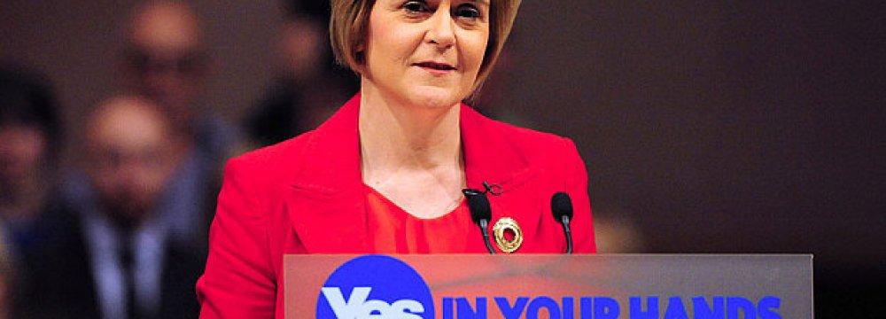 Scots Enjoying Healthy Growth