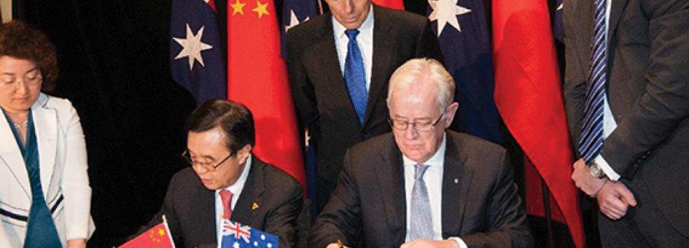 Sino-Australia FTZ