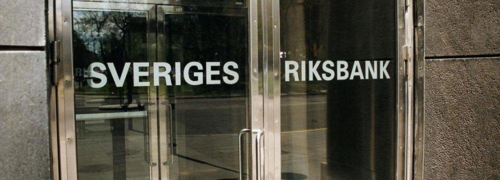 Sweden CB Says Will Intervene Over Krona Rate
