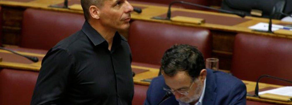 Uproar in Athens Over 'Secret Grexit Plan'