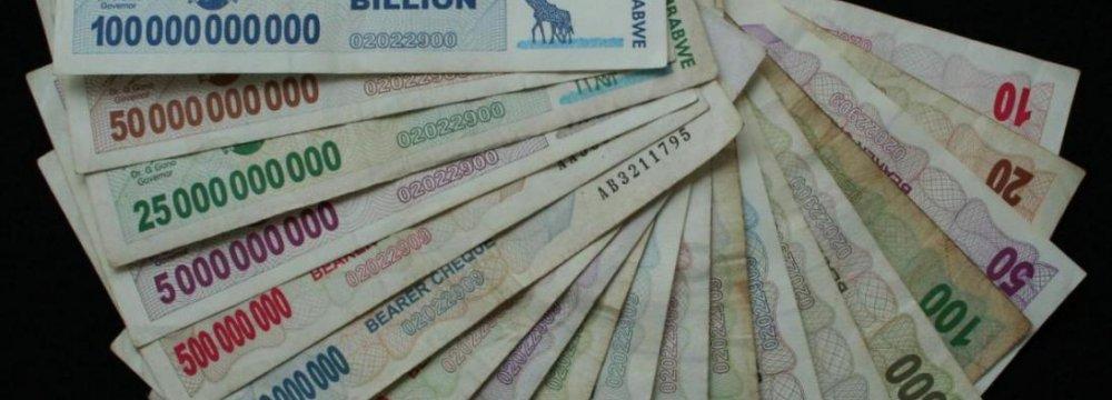 Zimbabwe Dollars Phased Out