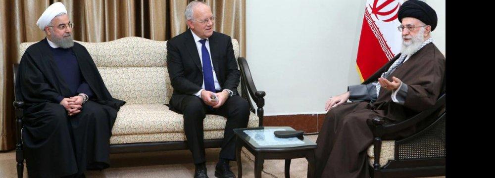 Tehran, Bern Announce Roadmap for Coop.