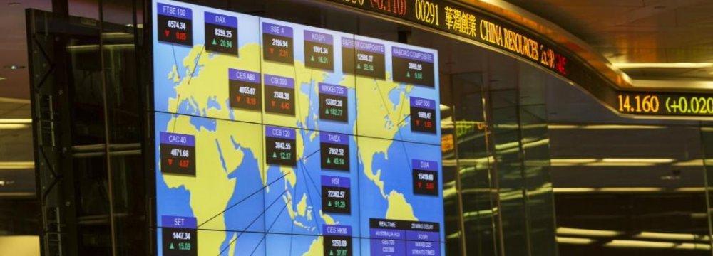 Asian Markets Gain, European Shares Dip