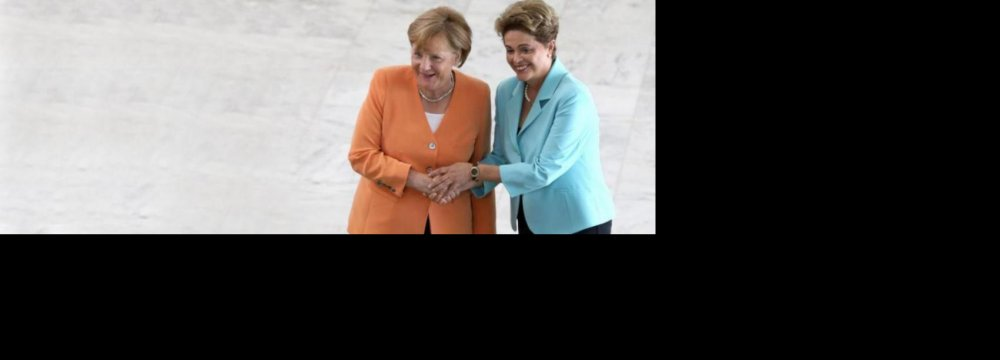 Brazil, Germany Refocus  on Trade, Climate Change