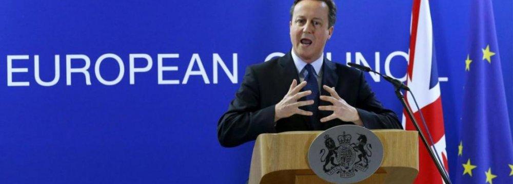Cameron Pleads for EU Deal