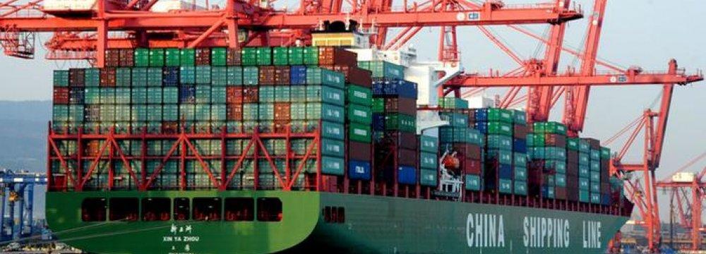 China Trade Tumbles