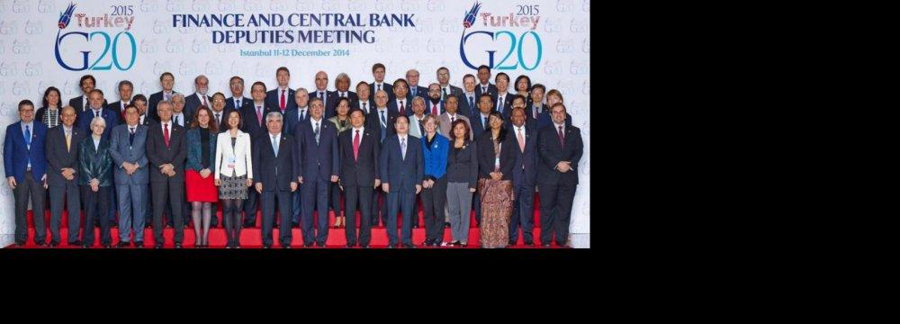 G20 Needs New Growth Engines