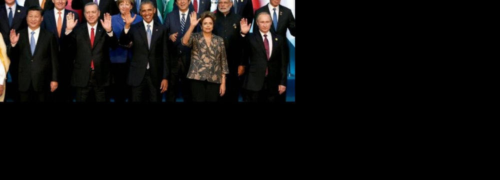 G20 Says Will Overcome Global Economic Challenges