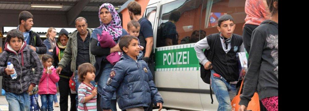 German Economy Facing Challenge of Refugees
