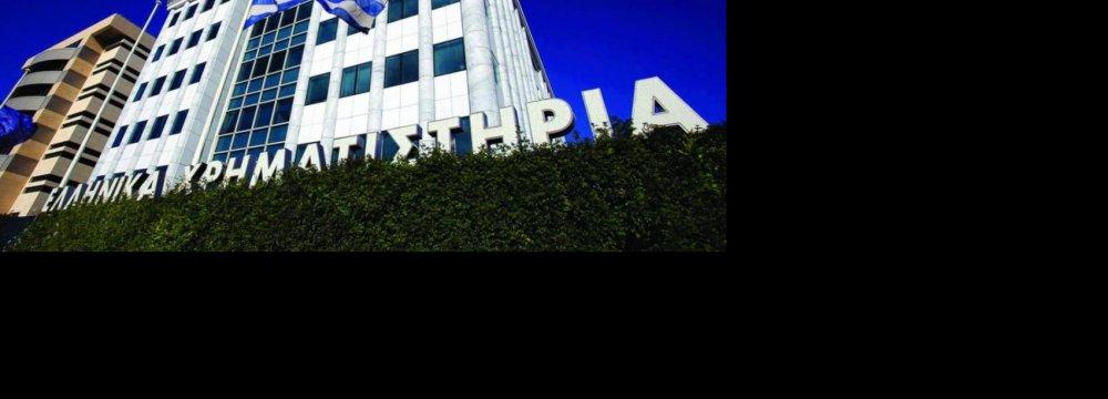 Greek Stocks Plunge Most  in Decades