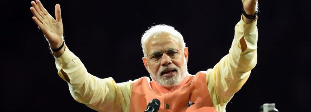 India FDI  Up 40%