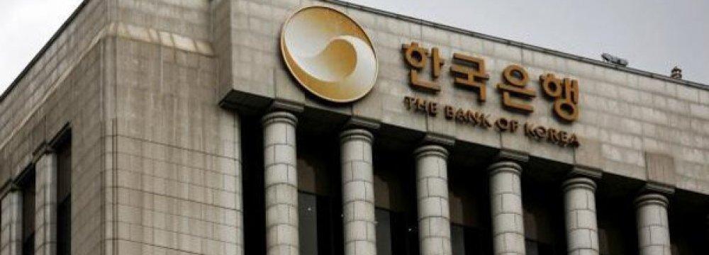 Korea Bond Yields Fall