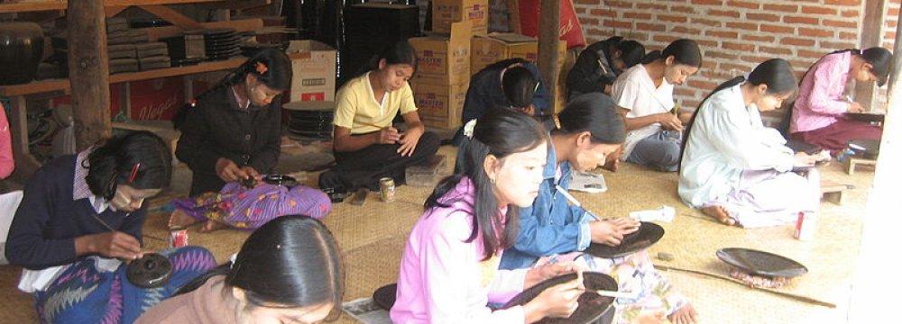 Myanmar Factories Warn Gov't Against Wage Reform