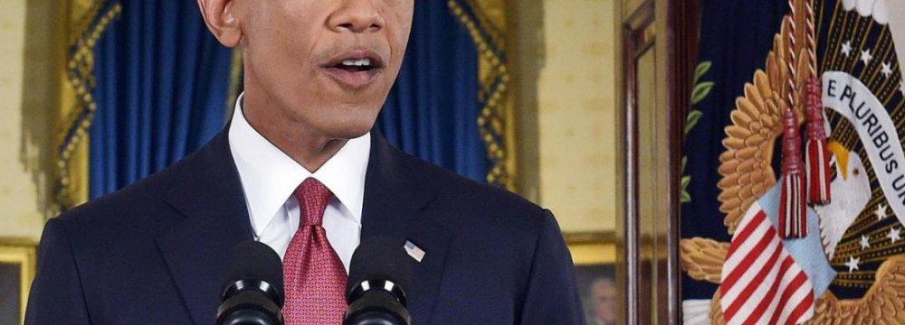 Obama Tells Congress to Pass Budget, Avoid Shutdown